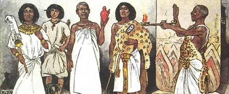древнее население Египта