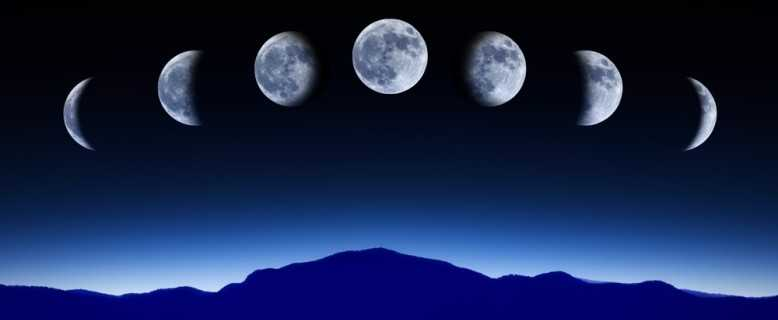 фазы лунного месяца