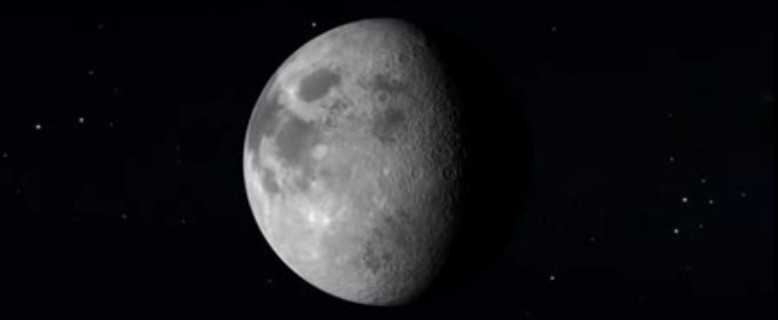 появление Луны