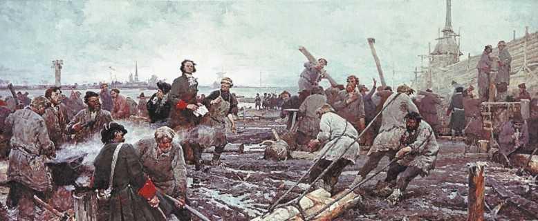 какой город был на месте Санкт-Петербурга
