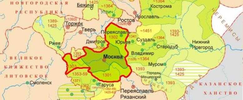 государство при Иване Калите