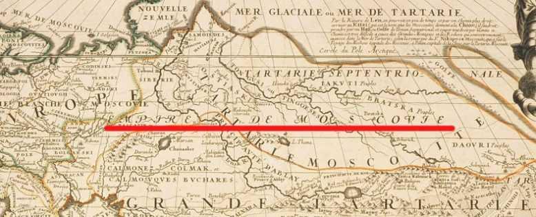 тартария карта
