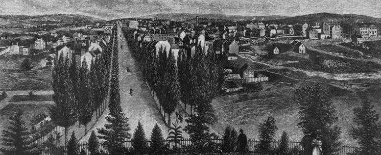 вашингтон 1800 год