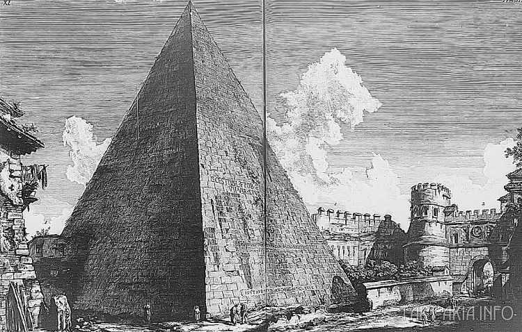 Руины неопознанных городов на гравюрах XVIII века 1