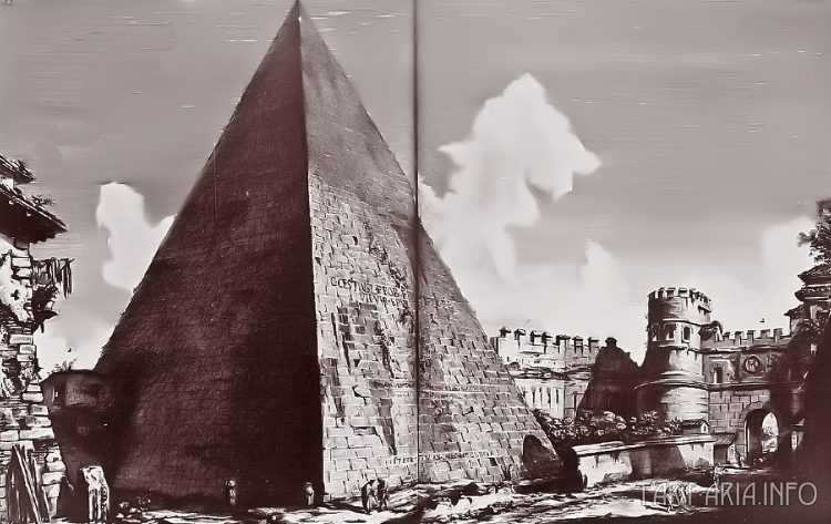 Руины неопознанных городов на гравюрах XVIII века 2