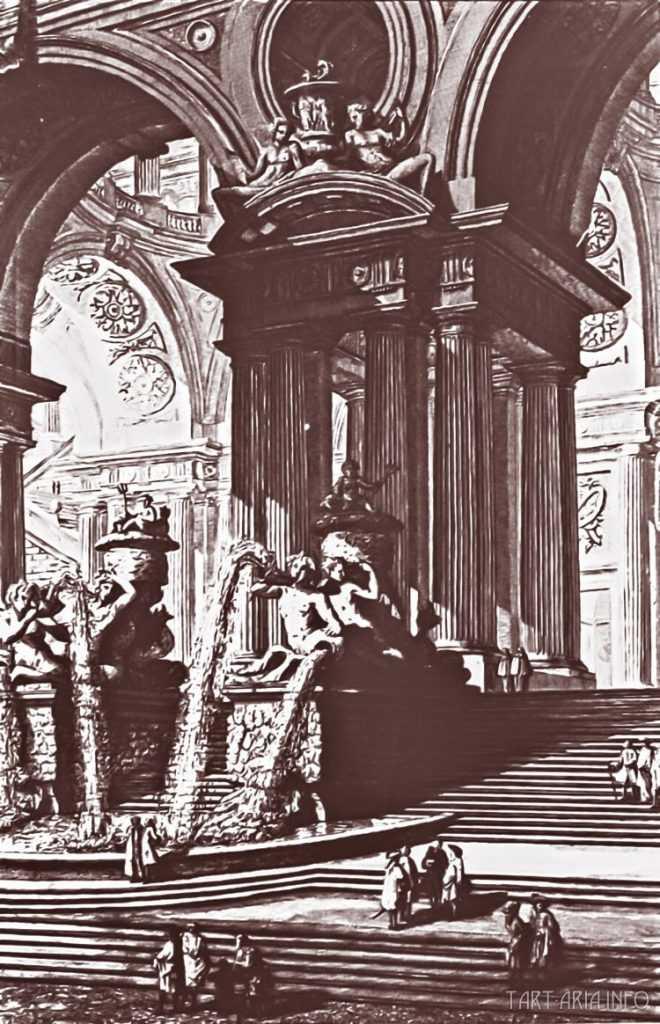 Руины неопознанных городов на гравюрах XVIII века 16