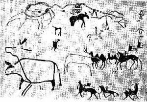 Очень древняя стоянка человека в Диринг-Юрях 3