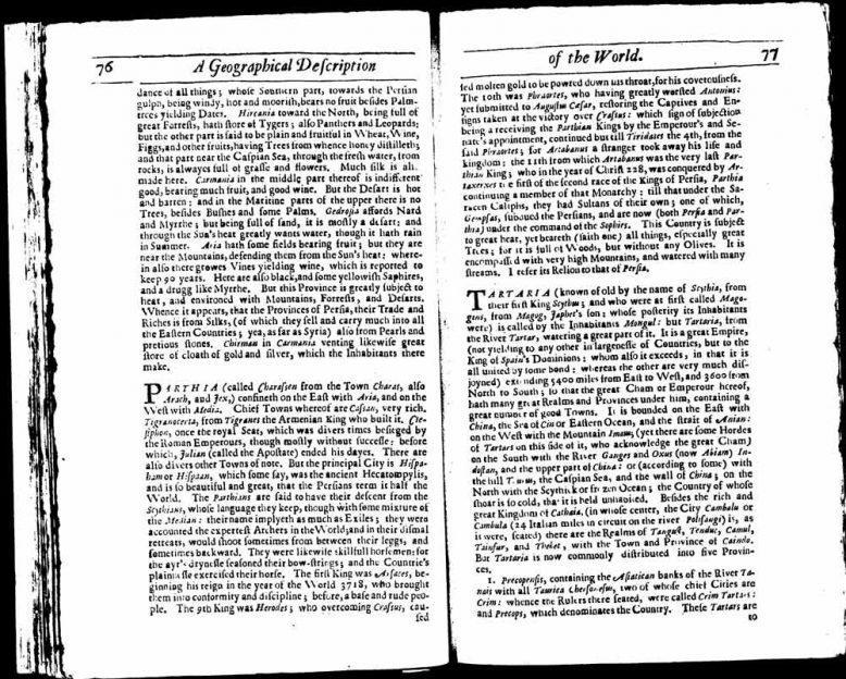 Тартария во Всемирной истории Дионисия Петавиуса 2