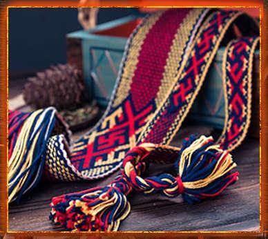 Славянский пояс – предмет одежды, который носили всегда 1