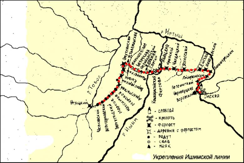 Крепости, сохранившиеся со времен борьбы Тартарии с Романовыми 12
