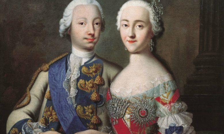 Петр 3 с женой
