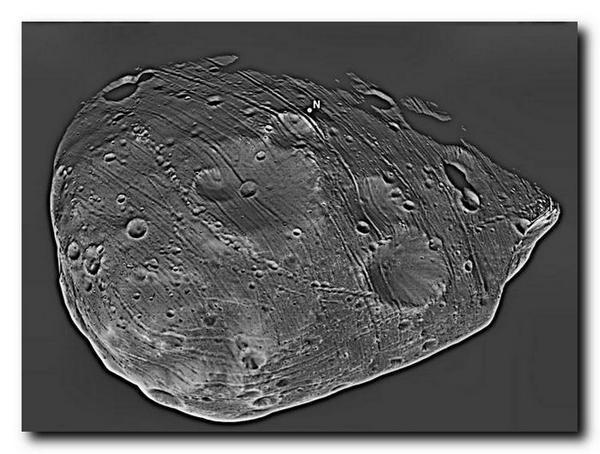 Спутник Марса Фобос