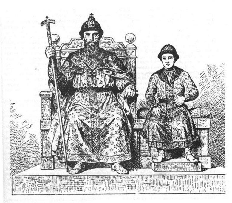 Василий 2 с сыном Иваном