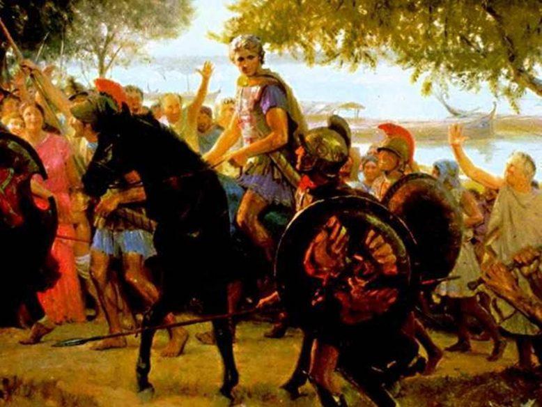 Завоевания Александра Македонского 3