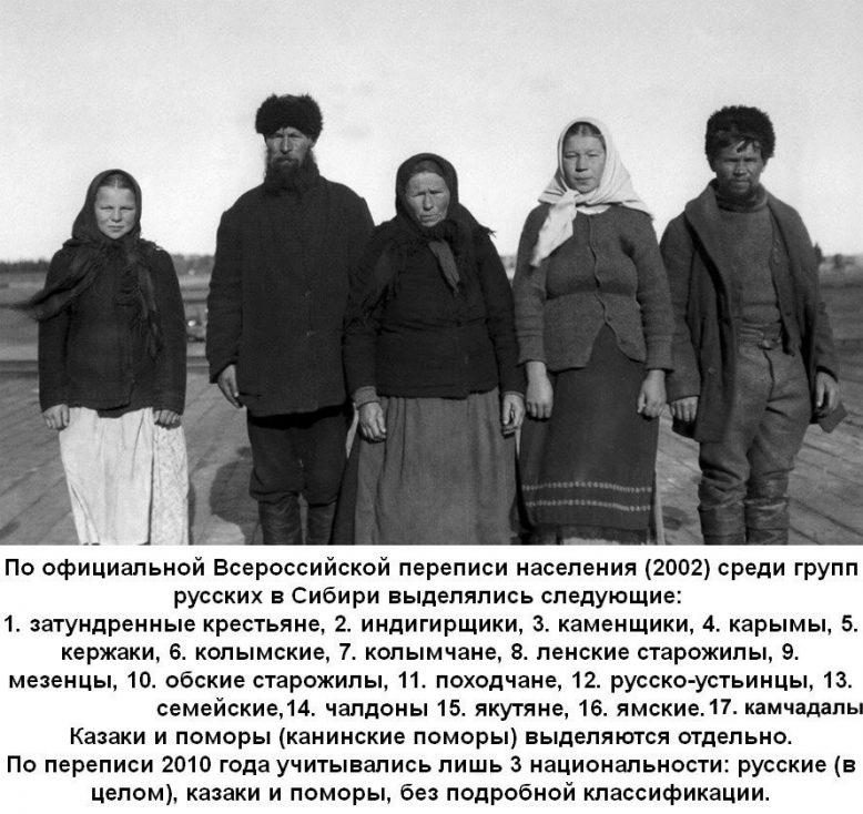 Народы, издревле заселявшие огромные просторы Сибири 1