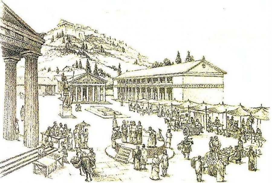 Древние греческие города - полисы по Гомеру 1