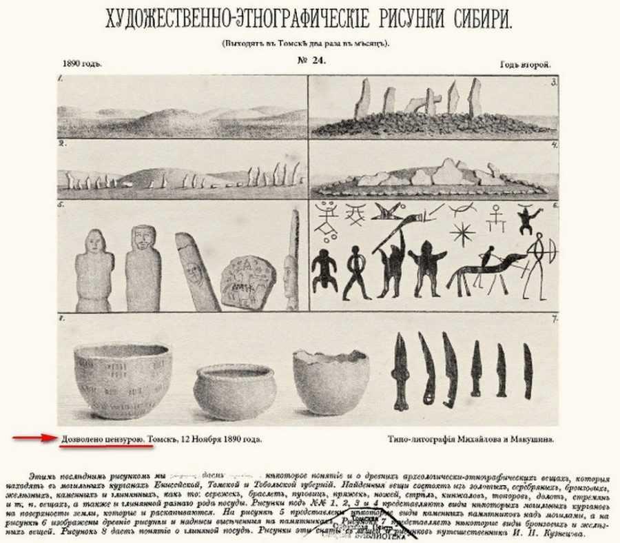 Археологические свидетельства цивилизации в Сибири задолго до н.э. 16