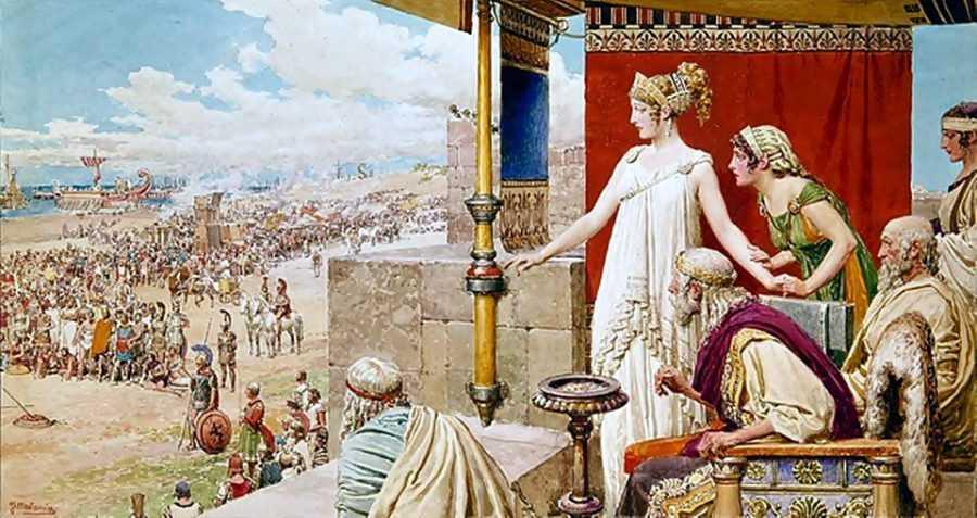 Древние греческие города - полисы по Гомеру 2