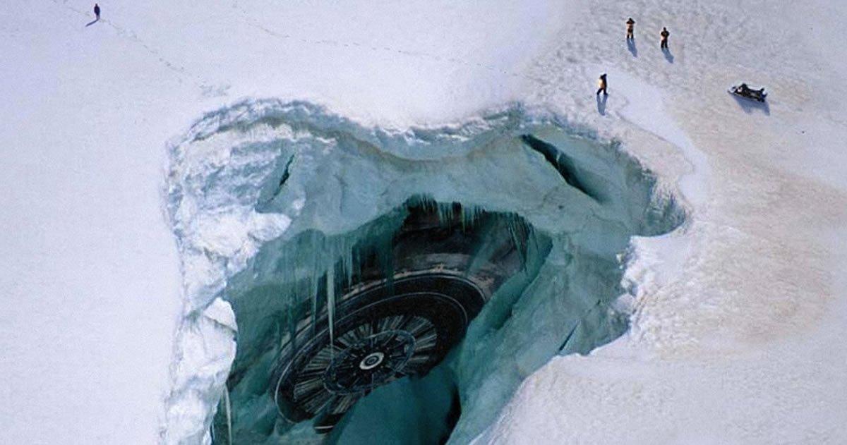 Таинственные опустевшие города в Антарктиде 1