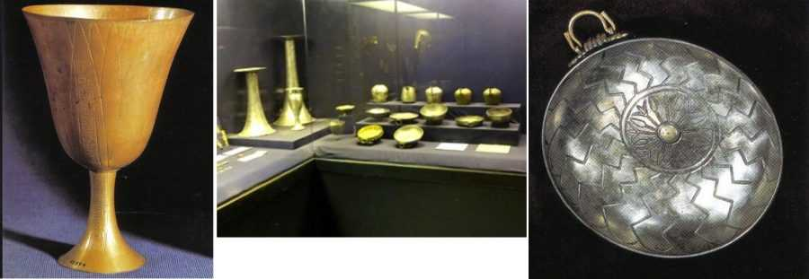 Фараон Псусеннес I , чья гробница столь же богата, как у Тутанхамона 4