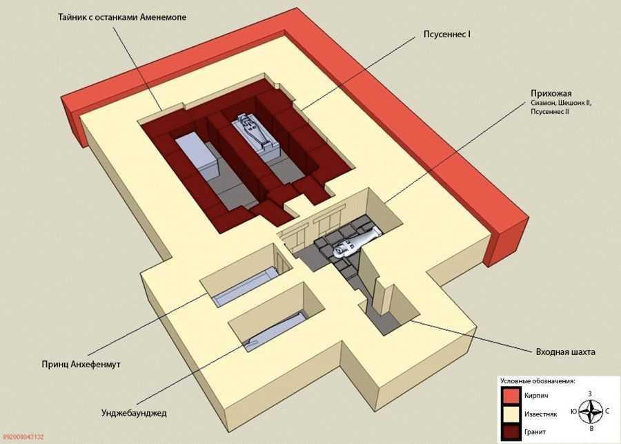 Фараон Псусеннес I , чья гробница столь же богата, как у Тутанхамона 2