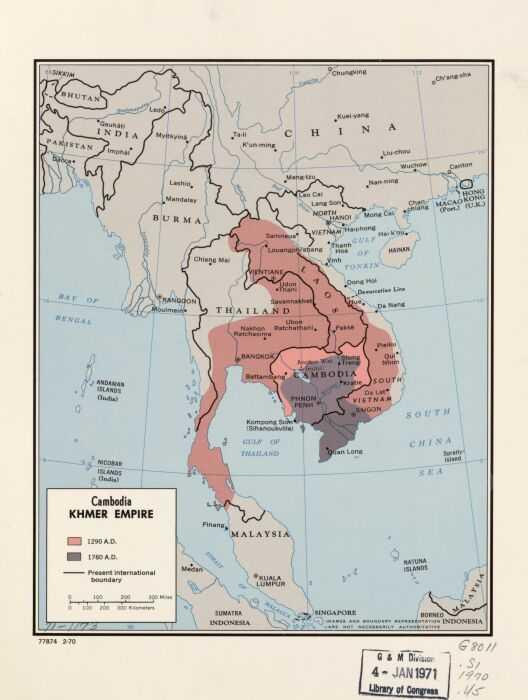 Кхмерская империя. Успех кхмеров в доиндустриальном мире 2