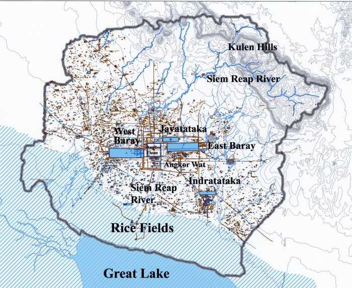 Кхмерская империя. Успех кхмеров в доиндустриальном мире 4