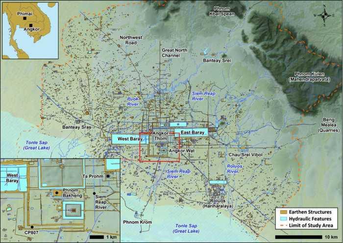 Кхмерская империя. Успех кхмеров в доиндустриальном мире 6