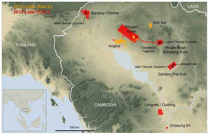 Кхмерская империя. Успех кхмеров в доиндустриальном мире 7
