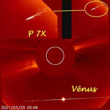Снимки планеты Нибиру современными телескопами. Объект P 7X 10