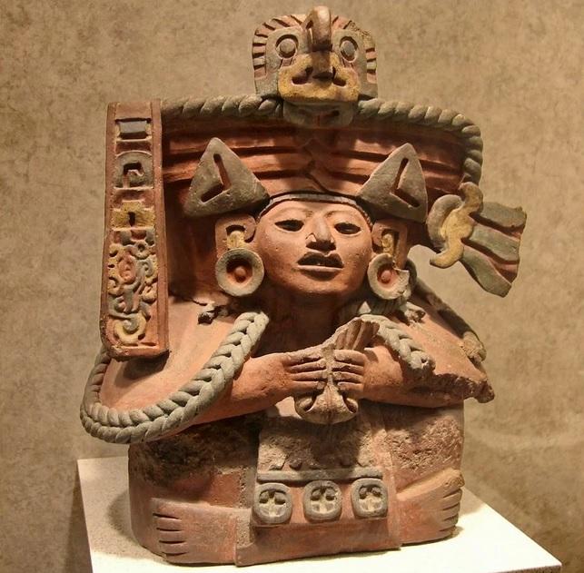 экспонат музея антропологии в Мехико