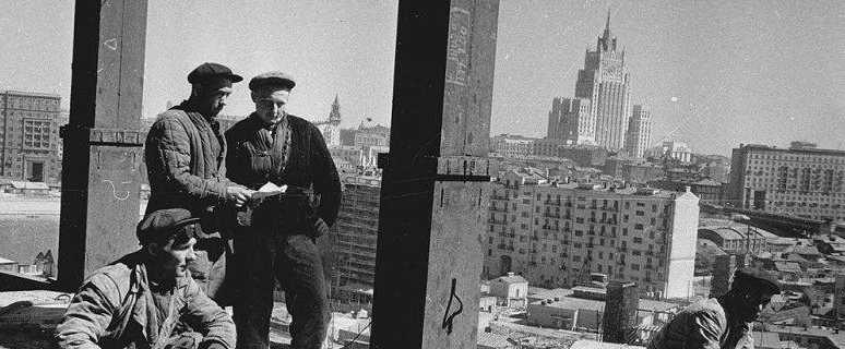 жилищное строительство при Сталине