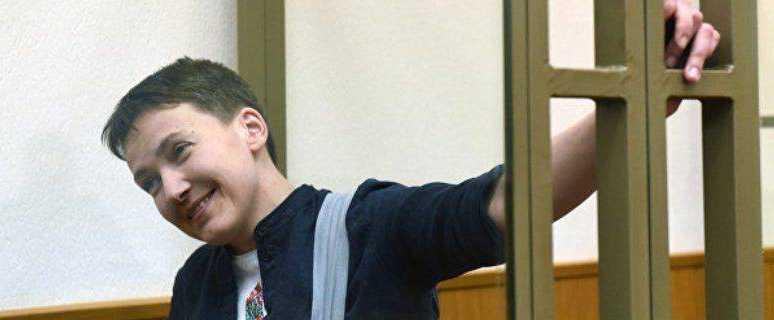 Савченко вернулась на Украину