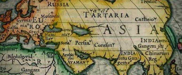 Тартария на карте